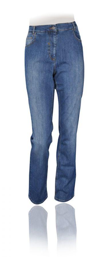 Jeans Alena gerades Bein