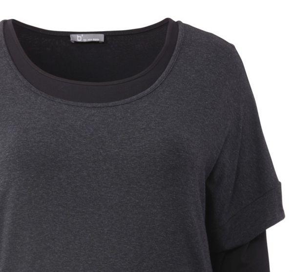 Layer-Shirt im Oversize-Look