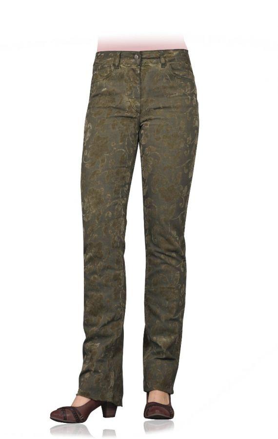 Alloverprint-Jeans