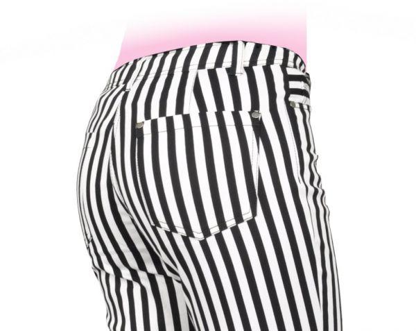 Streifen-Hose