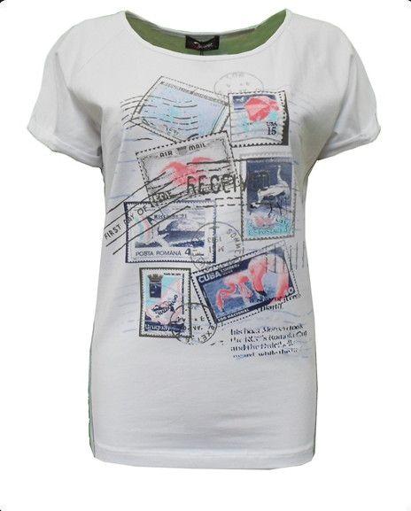 No Secret Print-Shirt