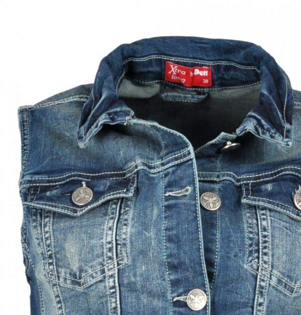 Jeans-Weste