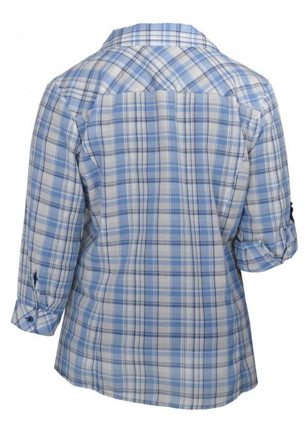 b² Bluse mit Hemdkragen