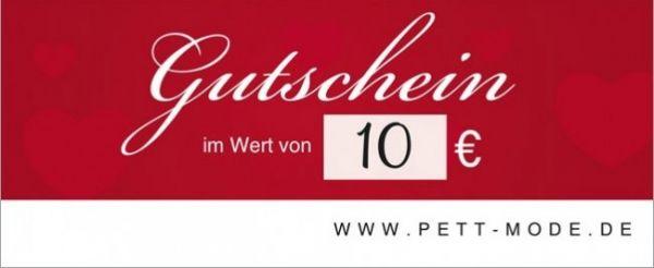 Pett-Gutschein 10€